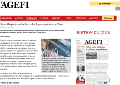 Link to - AGEFI - 24 May 2020